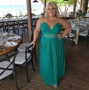 31c9de60ceb ASOS Dresses - Asos Tall Lace Cami Midi Prom Dress
